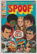 Spoof #1, Marie Severin, Len Wein, Dark Shadows, Marvel, 1970 Very Good Plus r