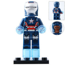 Iron Patriot - Marvel Universe Ironman Custom Lego Moc Minifigure Gift For Kids