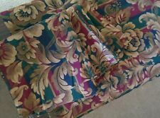 2 PAIR JCPENNEY ROD POCKET CURTAIN PANELS FLORAL.