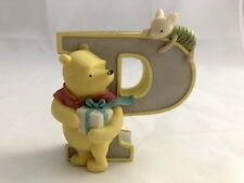 Disney Classic Winnie the Pooh Figurine Letter P for Piglet Pooh Present