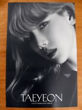 TAEYEON (SNSD) - Purpose (Deluxe Ver. A) [OFFICIAL] POSTER *NEW* K-POP