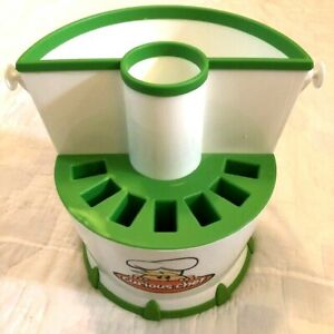 """Curious Chef - Kids Cookware Caddy  - Excellent Condition - 10"""" tall 12"""" wide"""