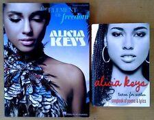 Alicia Keys -Songbook Of Poems & Lyrics (Hardback) + Element Of Freedom (Songbk)