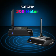 PAT-580 5.8GHz 300M HDMI AV Sender TV Wireless Audio Video Transmitter Receiver