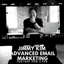 Jimmy Kim - Advanced Email Marketing Course |🌶 Value $397