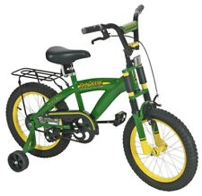 "John Deere 16"" Rear Coaster Brake and Front Hand Kids Bicycle Bike NEW"