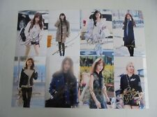 Girls Generation Yoona All Member Signed 8 Photos 4x6 Autographed USA SELLER 1