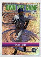 2002 Topps ICHIRO SUZUKI Rare OWN THE GAME INSERT CARD #OG14 Seattle Mariners