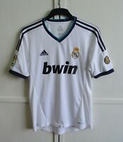 Real Madrid 2012/2013 Home Football Shirt Jersey Camiseta Kit Adidas Size M