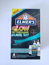 Elmer's Glow In The Dark 4 pc Slime Kit *NEW*
