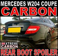 Mercedes C Class W204 Coupe M-Style Carbon Ducktail Rear Boot Spoiler C63 DTM