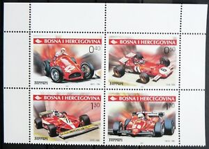 Bosnia and Herzegovina Stamps - Ferrari_2001 - MNH.