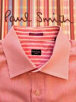 "PAUL SMITH Men's SHIRT 16.5""  Collar - Pristine Condition. Contrast Double Cuffs"