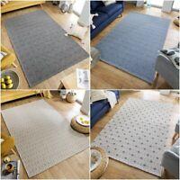 Traditional Style Hardwear Flatweave Geometric Pattern Cotton Rug Home Carpet