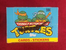 1989 TOPPS TEENAGE MUTANT NINJA TURTLES Series 1 Cards 24 UNOPENED Cello Packs