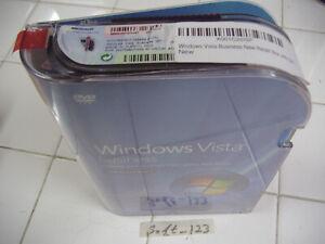 Microsoft Windows Vista Business w/SP1 Full MS WIN 32 Bit DVD=SEALED RETAIL BOX=
