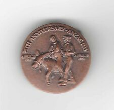 75th ANNIVERSARY ANZAC DAY badge - Simpson & his Donkey - 1915-1990
