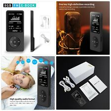 Mymahdi 8Gb Mp3 Music Player 1.8 Inch Screen 70h high quality lossless sound .
