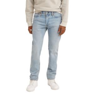 Genuine LEVIS Mens 511 Slim Fit light blue Stretch Denim Jeans LEVI