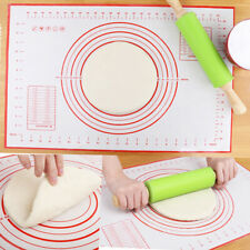 Dough Rolling Silicone Pad Pastry Mat Bakeware Liner Baking Mat Non-Stick Home