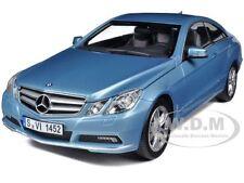 2009 MERCEDES E500 E CLASS BLUE 1/18 DIECAST MODEL CAR BY NOREV 183542