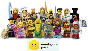 Lego 71018 Collectible Minifigure Series 17: Complete Set of 16 - New & SEALED
