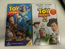 Toy Story Limited Release VHS & Toy Story 2 VHS plus photocards