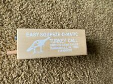 turkey call, smiths game calls , push, vintage , squeeze-o-matic