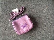 Children Lilac Baby Shoulder Handbag Butterfly Girls Bag Stylish Kids