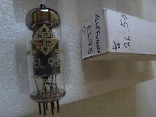 EL95 telefunken <> entre pins new old stock valve électronique tube 1 pc M17