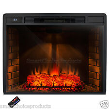 "Limited Edition 33"" Electric Firebox Fireplace Insert Room Heater Patented"