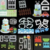 Cartoon Theme Fondant Cake Decorating Plunger Cookie Cutter Paste Mold Mould DIY