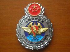 2019's series China Fire and Rescue Team Fire Brigade Firemen Metal Insignia