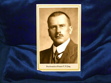 C. G.  JUNG Cabinet Card Photograph Pioneer Psychology Therapy Consciousness RP