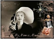 Marilyn Monroe 2 wall clock   They make great gifts