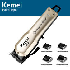 New Professional Hair Clippers Mens Basic Barber Set Trimmer Shaver Cutter Kit A