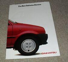 Daihatsu Domino Brochure 1985-1986