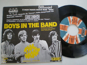 """THE WAKE Boys In The Band SPAIN 7"""" 1970 UK BLUE EYED SOUL MOD Carnaby Vinyl"""