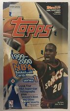 1999-00 Topps Series 1 Basketball Factory Sealed Hobby Box