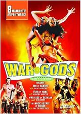 War Gods Collection. 8 Sword & Sandal Greats. Brand New In Shrink!