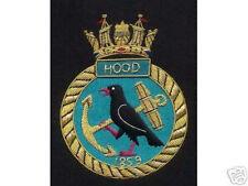 UK Britain British HMS Hood Royal Navy Patch Badge Ship Destroyer War Bismarck