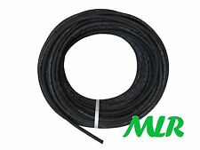 "LAND ROVER SERIES 1/2/3 6MM 1/4"" POLYESTER BRAIDED RUBBER FUEL HOSE PIPE MLR.BAB"