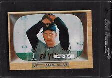 1955 Bowman Hoyt Wilhelm HOF # 1 EX-MT No Creases 4