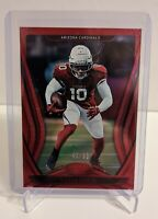 2020 Panini Certified Deandre Hopkins #38 Mirror Red FIRST Arizona Cardinals /99