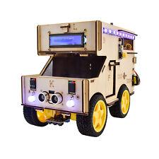 KEYESTUDIO Elektronischer Programmier roboter Smart House Car für Arduino DIY DE