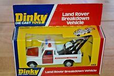 Vintage Dinky 442 Land Rover Breakdown Vehicle; Original Packaging; VGC