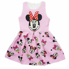 Minnie Mouse Cotton Party Dresses for Girls