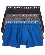 Hugo Boss BOSS Men's Underwear, Cotton Boxer / Trunk 3 Pack, BMB-019-Body-487 XL
