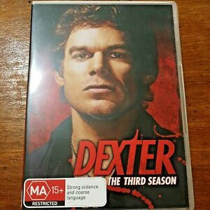 Dexter : Season 3 (DVD, 2009, 4-Disc Set) R4 VERY GOOD – FREE POST