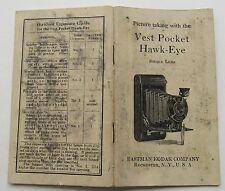 The Vest Pocket Hawk Eye Single Lens